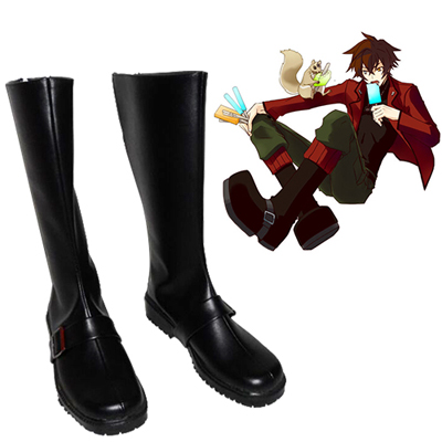 Zettai Karen Children The Unlimited Andy Hinomiya Cosplay Shoes UK