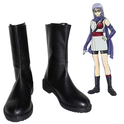 Gin Tama Sarutobi Ayame Cosplay Shoes