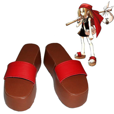 Shaman King Anna Kyoyama Cosplay Shoes