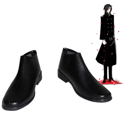 Black Butler Sebastian·Michaelis Cosplay Shoes UK