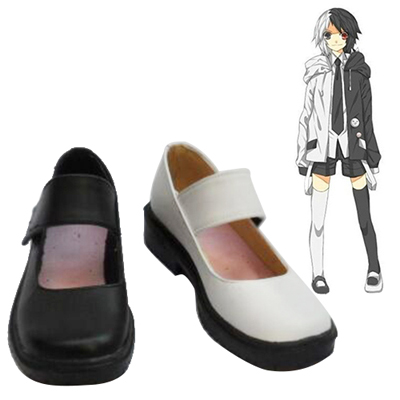 Zapatos Danganronpa: Trigger Happy Havoc Monokuma Personification Cosplay Botas