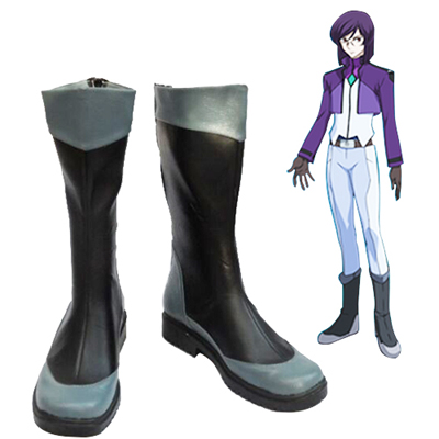Mobile Suit Gundam 00 Tieria·Erde Cosplay Shoes UK