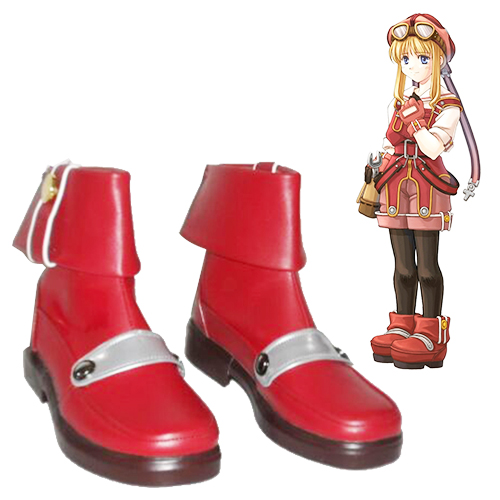 The Legend of Heroes: Trails in the Sky Tita Russell Faschings Stiefel Cosplay Schuhe