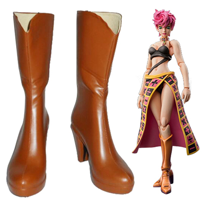 Jojo's Bizarre Adventure Trish Una Faschings Stiefel Cosplay Schuhe