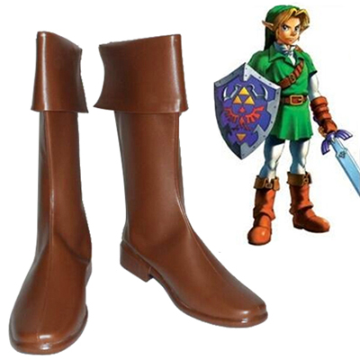 The Legend of Zelda link Faschings Stiefel Cosplay Schuhe