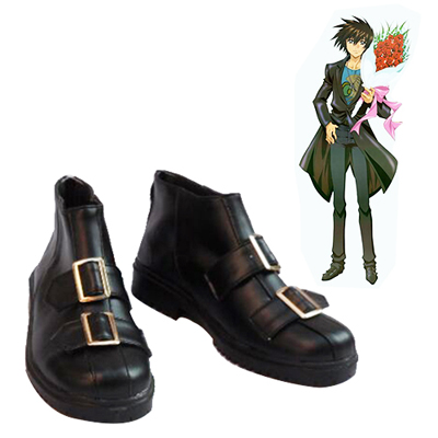 Mobile Suit Gundam SEED Kira·Yamato Black Cosplay Shoes UK
