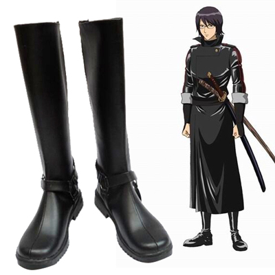 Gin Tama Shimura Shinpachi Cosplay Shoes Canada