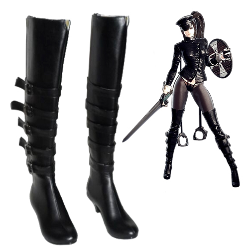 Vindictus Succubus Faschings Stiefel Cosplay Schuhe