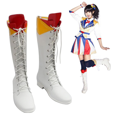 AKB48 Fortune Cookie in Love Men's Faschings Stiefel Cosplay Schuhe