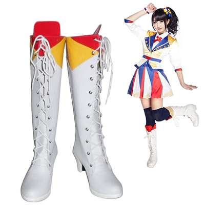 AKB48 Fortune Cookie in Love Female Faschings Stiefel Cosplay Schuhe