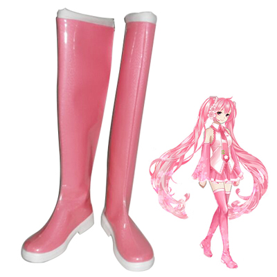 Vocaloid Sakura Miku Cosplay Shoes