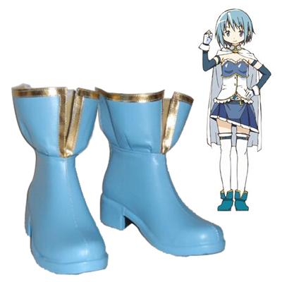 Puella Magi Madoka Magica Miki Sayaka Cosplay Shoes NZ