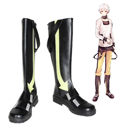 Kagerou Project Konoha Black Chaussures Carnaval Cosplay