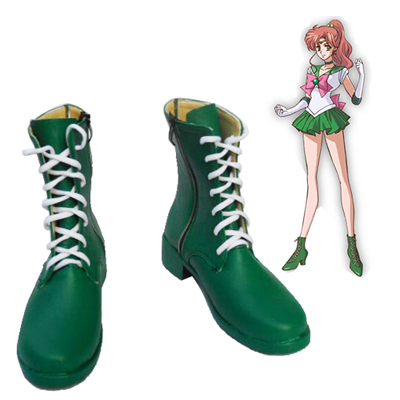 Sailor Moon Kino Makoto Faschings Stiefel Cosplay Schuhe