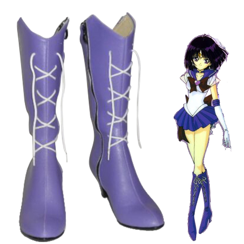 Sailor Moon Sailor Saturn Sapatos Carnaval