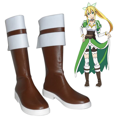 Sword Art Online Kirigaya Suguha Lefa Cosplay Shoes UK