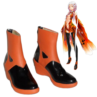 Zapatos Guilty Crown Yuzuriha Inori Cosplay Botas