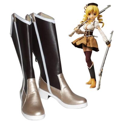 Puella Magi Madoka Magica Tomoe Mami Cosplay Shoes