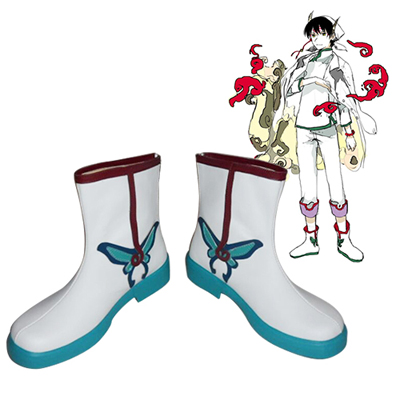 Hozuki's Coolheadedness Hakutaku Cosplay Boots UK