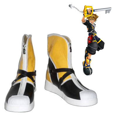 Kingdom Hearts Sora Chaussures Carnaval Cosplay