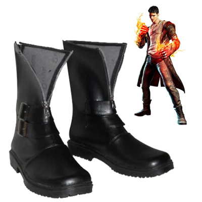 Devil May Cry Dante Faschings Stiefel Cosplay Schuhe