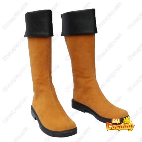 Hakuouki Heisuke Todo Faschings Stiefel Cosplay Schuhe
