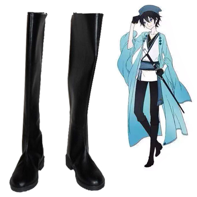 Vocaloid Zhiyu Moke Yan He Cosplay Shoes