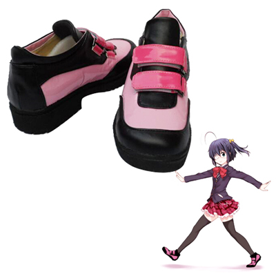 Zapatos Love, Chunibyo & Other Delusions Takanashi Rikka Cosplay High Botas