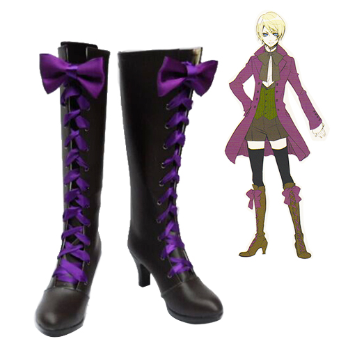 Black Butler Alois Trancy Cosplay Shoes NZ