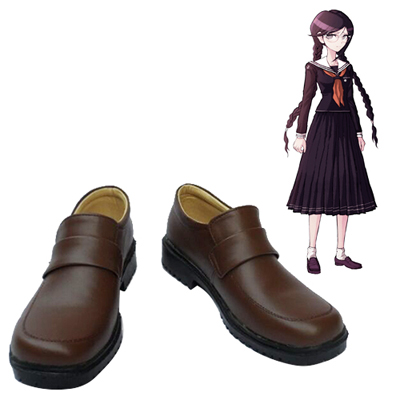 Zapatos Danganronpa: Trigger Happy Havoc Toko Fukawa Cosplay Botas