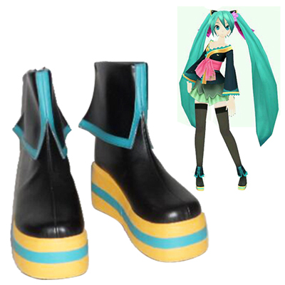 Vocaloid Hatsune Miku Courtesan kimono Sapatos Carnaval