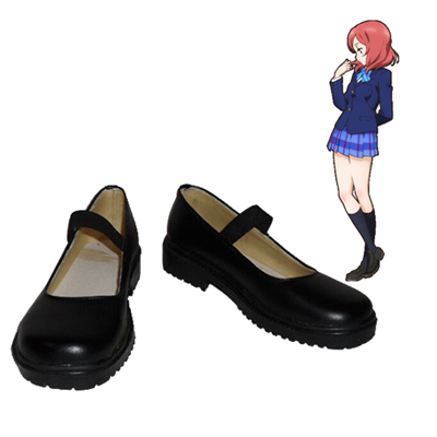 Love Live! Eli Ayase Maki Nishikino Black Cosplay Shoes