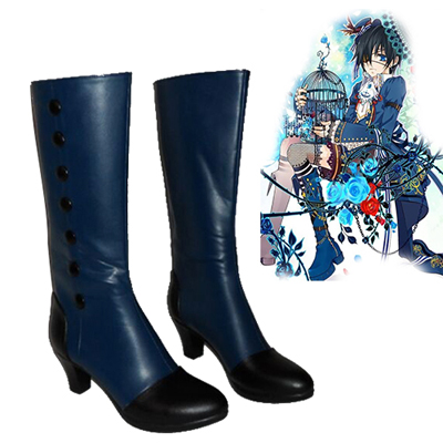 Black Butler Ciel Phantomhive Cosplay Anime Boots