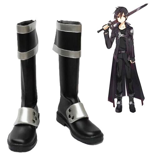 Sword Art Online ALfheim Online Kirigaya Kazuto Sapatos Carnaval