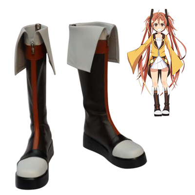 Black Bullet Aihara Enju Cosplay Shoes Canada