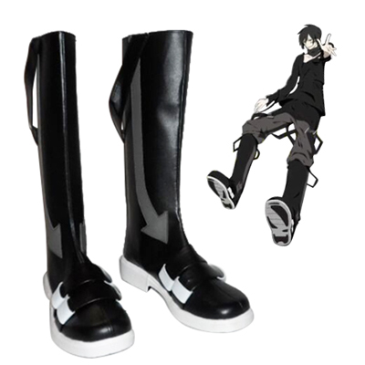 Kagerou Project Kuroha Black Cosplay Boots UK