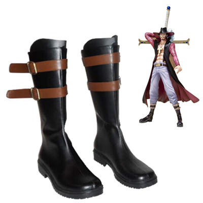 Zapatos One Piece Dracule Mihawk Cosplay Botas