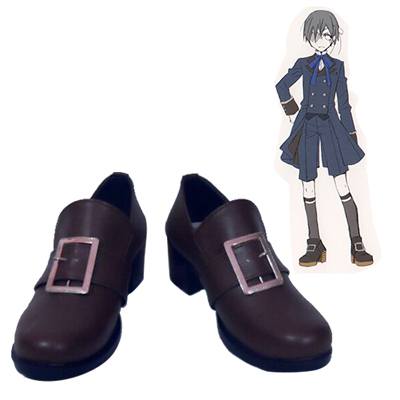 Black Butler Ciel Phantomhive Carnaval Cosplay Chaussures Manga