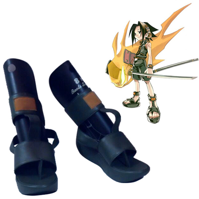 Shaman King Yoh Asakura Cosplay Shoes Canada
