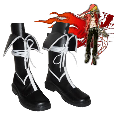 Togainu no Chi Gunji Cosplay Shoes UK