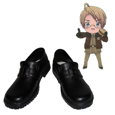 Axis Powers Hetalia USA Alfred·F·Jones Cosplay Sko Karneval Støvler