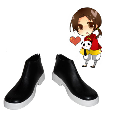 Axis Powers Hetalia China Wang Yao Chaussures Carnaval Cosplay