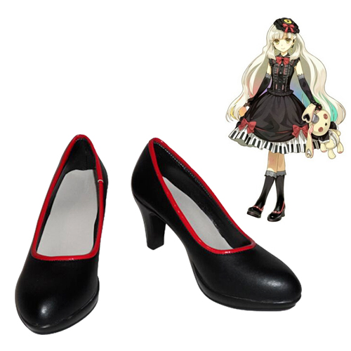 Vocaloid Mayu Faschings Stiefel Cosplay Schuhe
