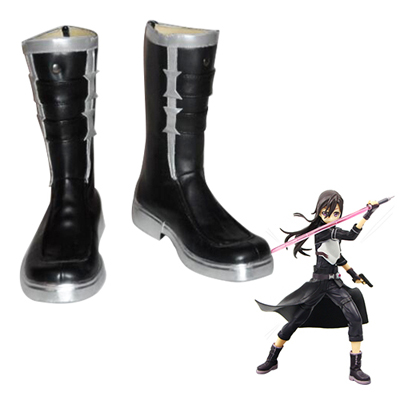 Sword Art Online Phantom Bullet Kirigaya Kazuto Cosplay Shoes UK