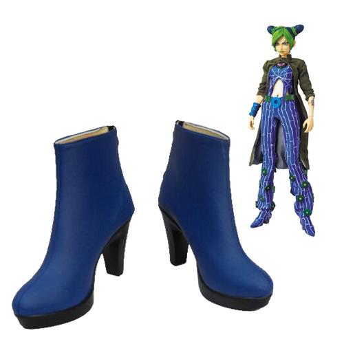 JoJo\'s Bizarre Adventure Jolyne Cujoh Faschings Stiefel Cosplay Schuhe