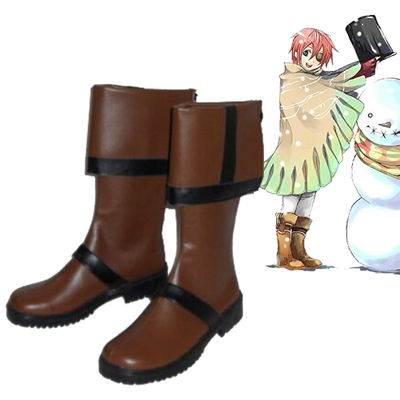 D.Gray-man Lavi Cosplay Shoes