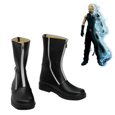 Final Fantasy Cloud Strife Chaussures Carnaval Cosplay
