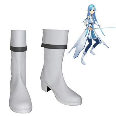 Sword Art Online Mother's Rosary Asuna Cosplay Laarzen
