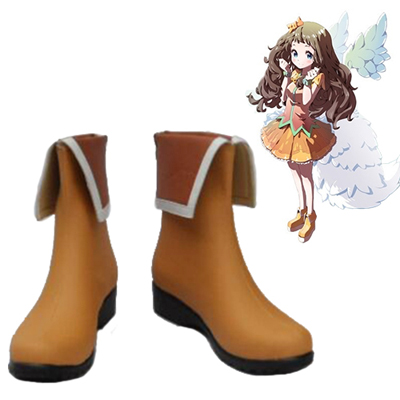 Zapatos Beyond the Boundary Shindou Ai Cosplay Botas