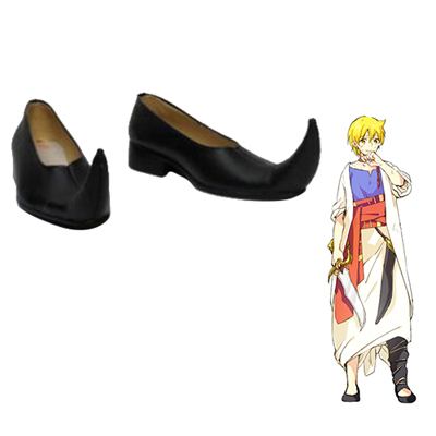 Magi: The Labyrinth of Magic Alibaba Saluja Faschings Stiefel Cosplay Schuhe